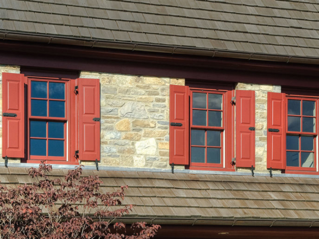 Architectural Raised Panel | Royraft Copper Red 668