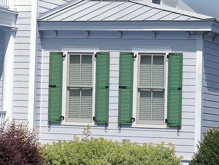 Architectural Louvered Colonial | Custom Color