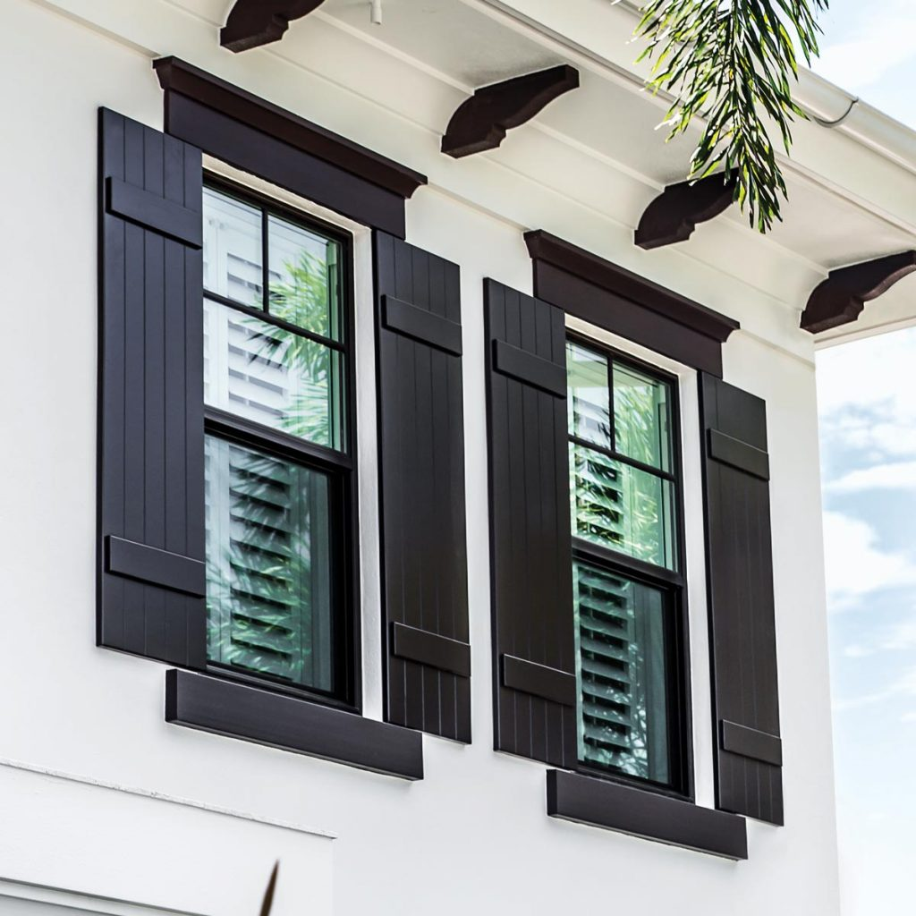 Colonial Shutters Exterior