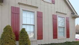 Boral Building Products shutters farmhouse